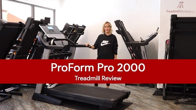 proform pro 2000 treadmill review